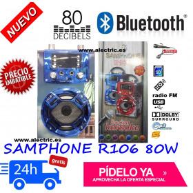 Altavoz inalambrico bluetooh samphone R106
