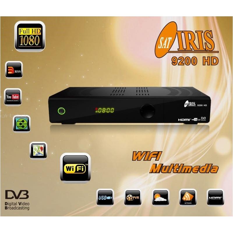 Decodificador Iris 9200 HD