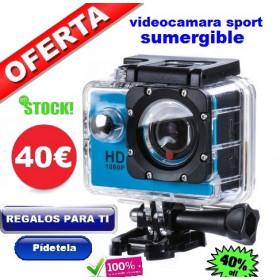 Videocamara Sport HD sumergible
