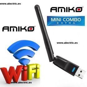 Antena wifi Amiko mini combo extra