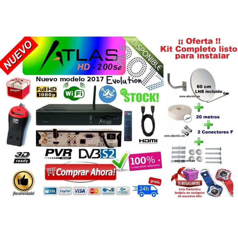 Kit Cristor Atlas HD 200se