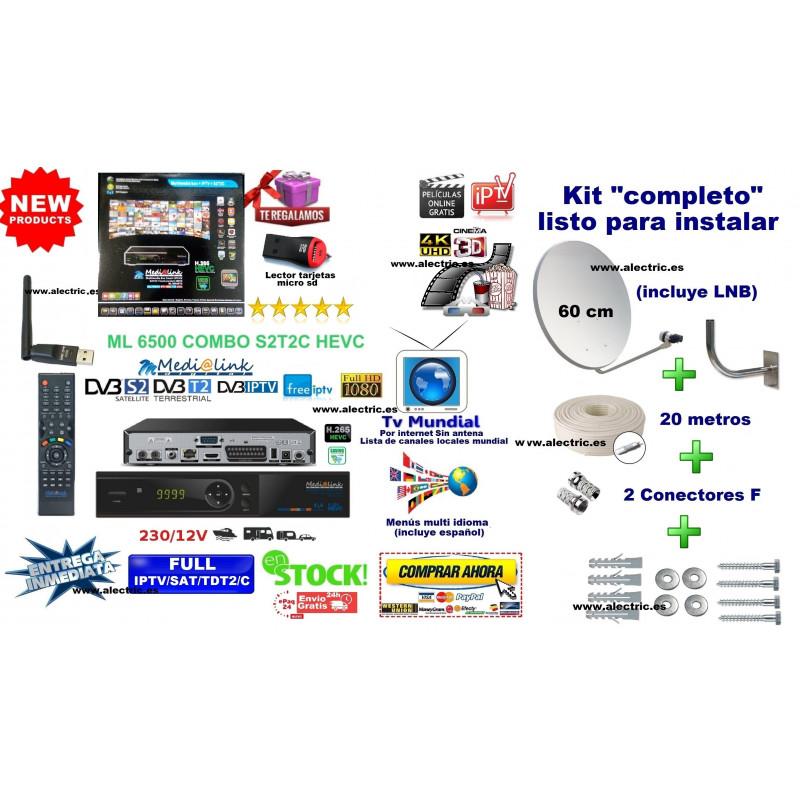 Kit MediaLink Smart Home ML6500 STC HD