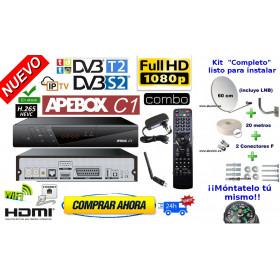 Apebox  C1 HD Combo + antena