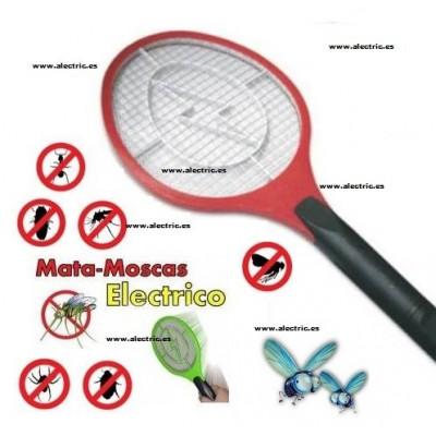 Raqueta mata mosquito