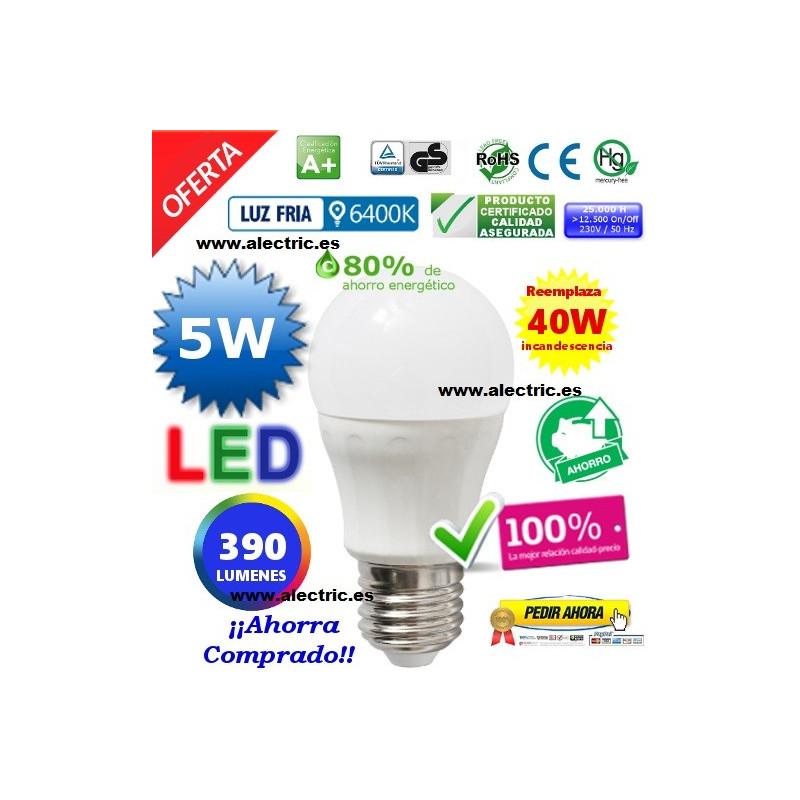 Esferica LED 5W blanca