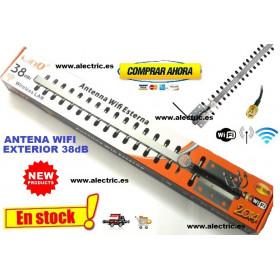 Antena wifi exterior 38 dB