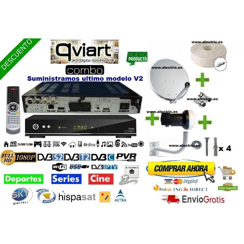 Kit Qviart Combo HD V2 + antena