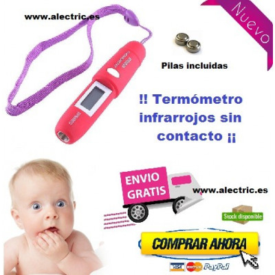 Termometro infrarrojos