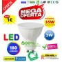 LED GU10 3W cálida
