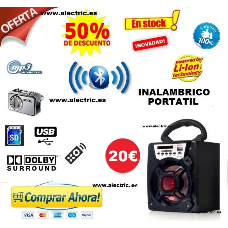 Altavoz inalambrico bluetooh itk t_610
