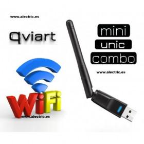 Antena wifi USB Qviart Combo