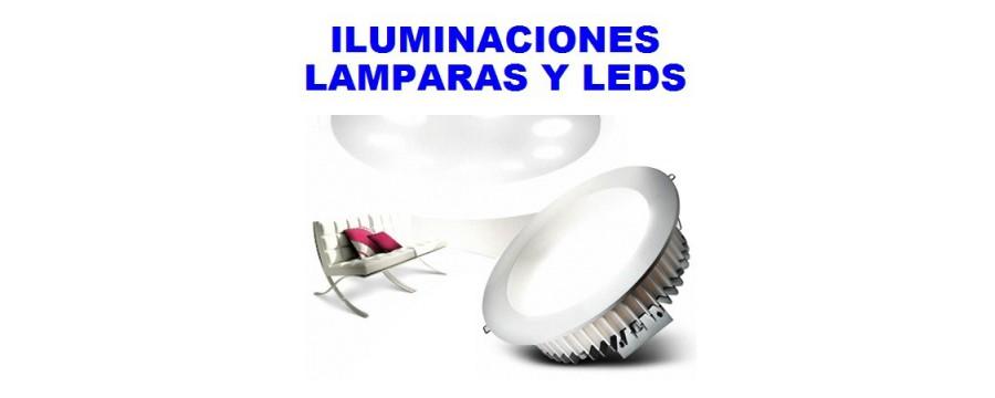 Iluminacion, lamparas y leds